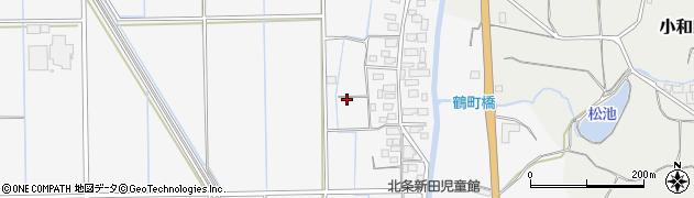茨城県つくば市北条周辺の地図