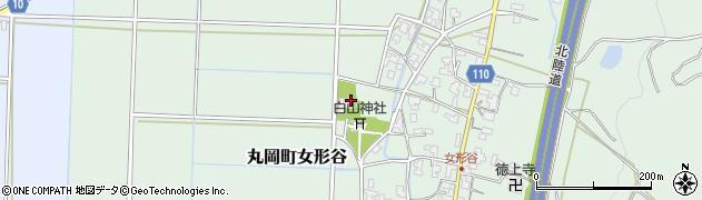 直乗院周辺の地図