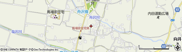 長野県松本市内田(上北)周辺の地図