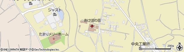 あけぼの荘周辺の地図