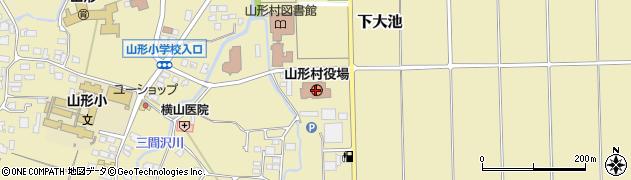 長野県東筑摩郡山形村周辺の地図