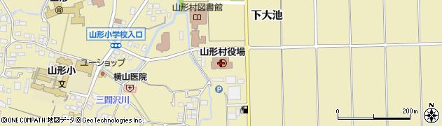長野県山形村(東筑摩郡)周辺の地図