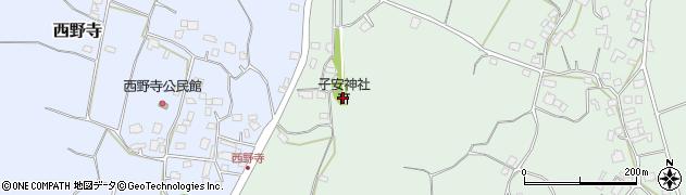 子安神社周辺の地図