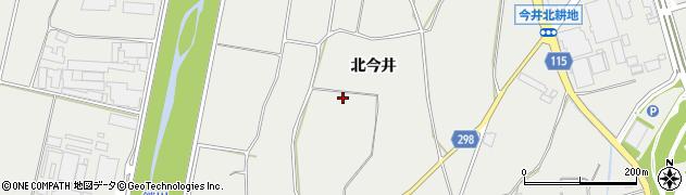 長野県松本市今井(北今井)周辺の地図