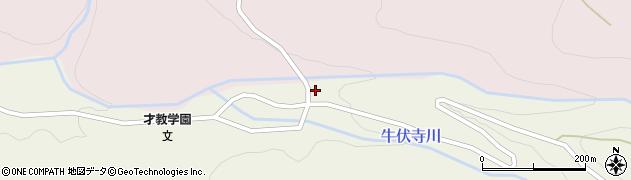 長野県松本市内田(牛伏寺)周辺の地図