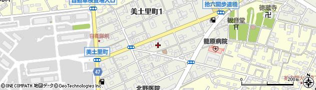 埼玉県熊谷市美土里町周辺の地図