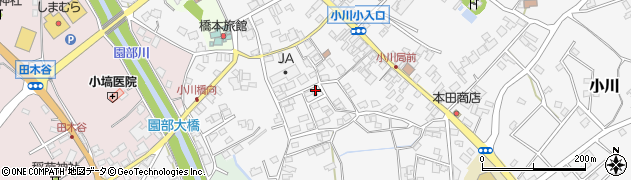 茨城県小美玉市小川周辺の地図