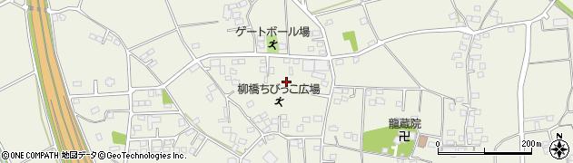 茨城県古河市柳橋周辺の地図
