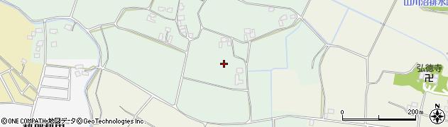 茨城県八千代町(結城郡)福岡周辺の地図