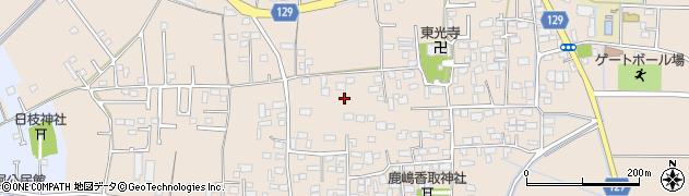 茨城県下妻市加養周辺の地図