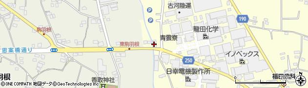 鈴屋リビング周辺の地図