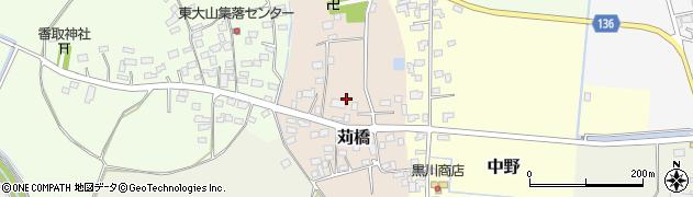 茨城県八千代町(結城郡)苅橋周辺の地図