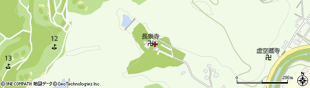 長泉寺周辺の地図