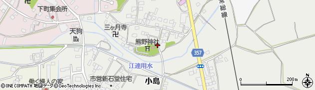 茨城県下妻市小島周辺の地図