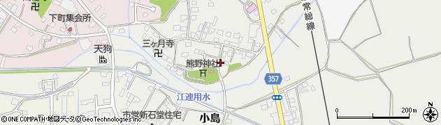 つくばユニットBRS周辺の地図