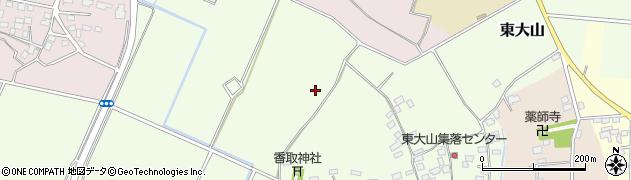 茨城県八千代町(結城郡)東大山周辺の地図