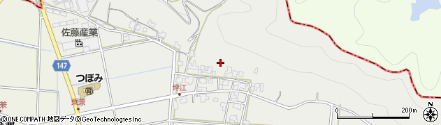 福井県坂井市丸岡町坪江周辺の地図