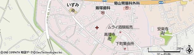 茨城県下妻市下妻丁周辺の地図