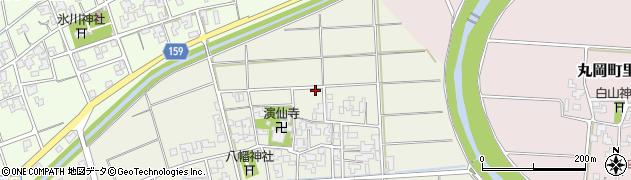 福井県坂井市坂井町御油田周辺の地図