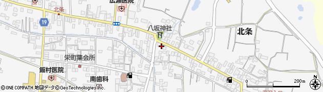 吉沢美容室周辺の地図