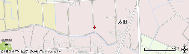 茨城県八千代町(結城郡)太田周辺の地図
