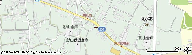 ヤクルト 古河ヤクルト販売総和センター周辺の地図