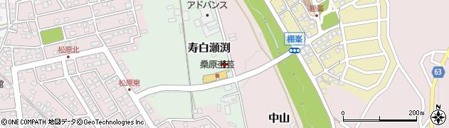 長野県松本市寿白瀬渕周辺の地図