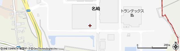 茨城県古河市名崎周辺の地図