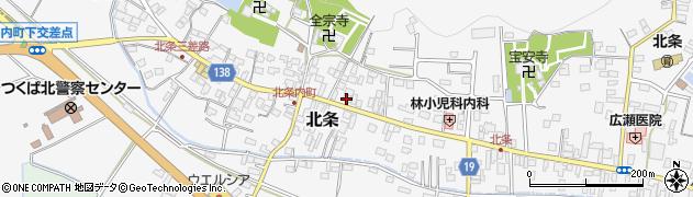 ストウ周辺の地図