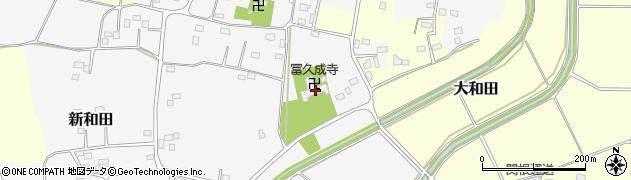 冨久成寺周辺の地図