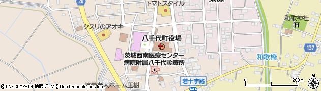 茨城県結城郡八千代町周辺の地図