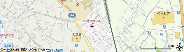 平井金物店周辺の地図