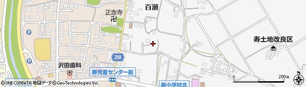 長野県松本市寿豊丘(百瀬)周辺の地図