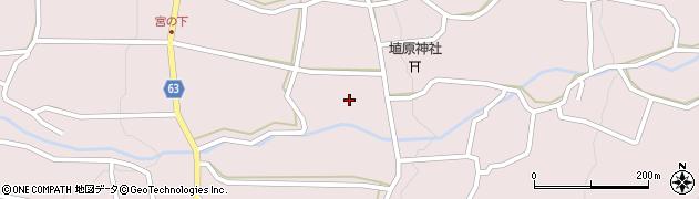 長野県松本市中山(埴原東)周辺の地図