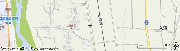 長野県佐久市入澤(三条)周辺の地図