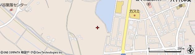 茨城県八千代町(結城郡)菅谷周辺の地図