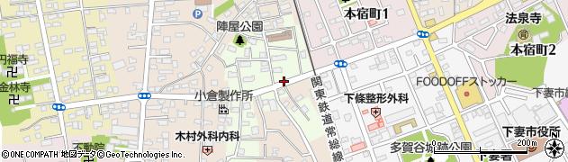 茨城県下妻市下妻甲周辺の地図