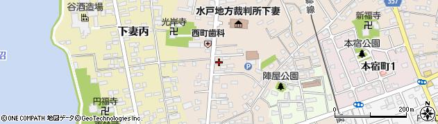 徳田酒店周辺の地図