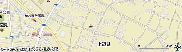 茨城県古河市上辺見周辺の地図