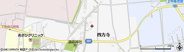 埼玉県熊谷市四方寺周辺の地図