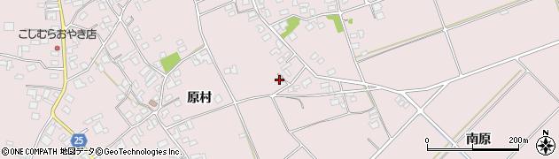 長野県松本市波田(南原)周辺の地図