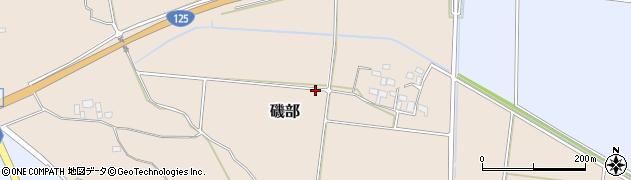 茨城県つくば市磯部周辺の地図