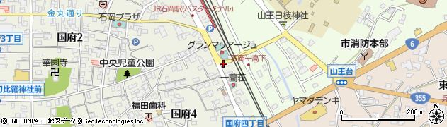 石岡自然食センター周辺の地図