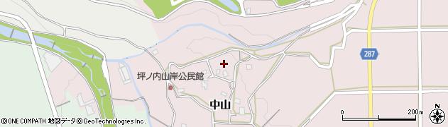長野県松本市中山(埴原西)周辺の地図