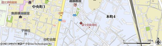 今泉燃料店周辺の地図