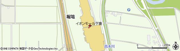アウトレットJ イオンモール下妻店周辺の地図