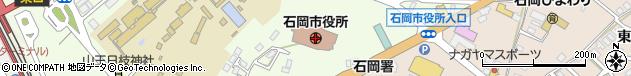 茨城県石岡市周辺の地図