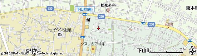 舘野理容所周辺の地図