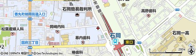石岡地区通運株式会社 ハイヤー石岡営業所周辺の地図
