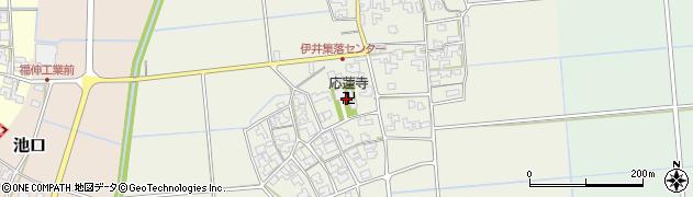 応蓮寺周辺の地図